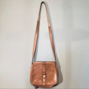 Handbags - SOLD. Leather satchel crossbody